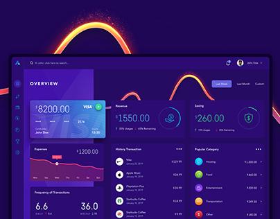 Personal Finances - UI/UX Design