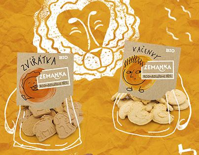 Packaging for Biopekárna Zemanka