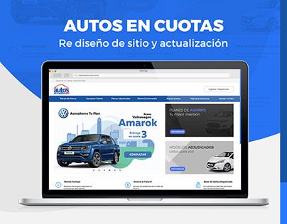 Re diseño y la programación del sitio web