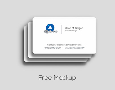 Mock Up Business Cards Free