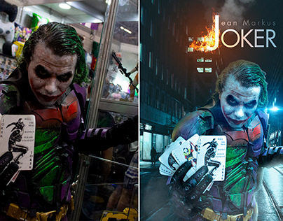 Cosplayers Photographed and Photoshopped