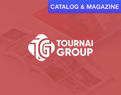 Tournai Group Catalog Design