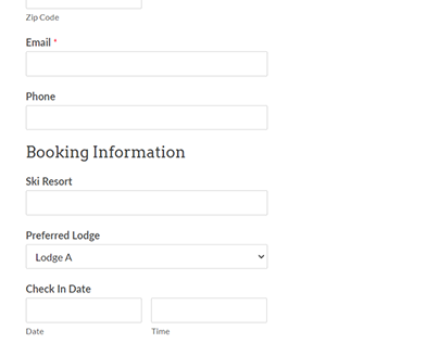 Form Style demo for wordpress (gravity/contact form)