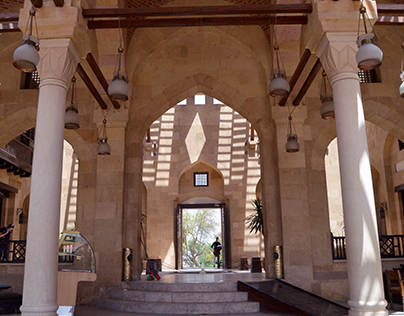 Capturing Architectural Beauty at the Azhar Park