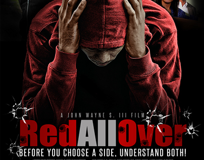 Red All Over - Film Poster and Title