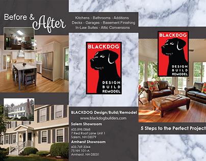 Blackdog - Tri-Fold 5 Steps Brochure Design