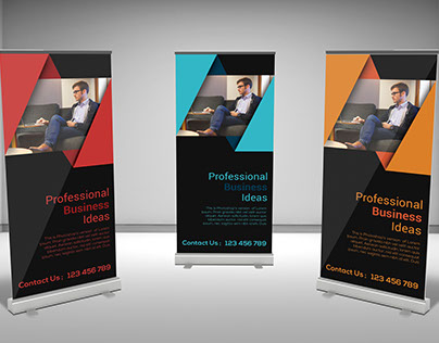 Rollup Banner Design..