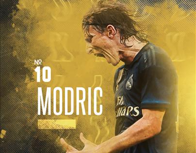 """Luka Modric"" - Poster"