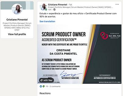 Scrum Institute Certified Scrum Masters