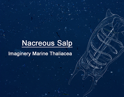 Nacreous Salp: An Imaginery Marine Thaliacea