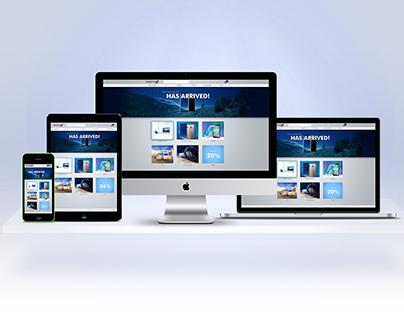 Master X logo and website design