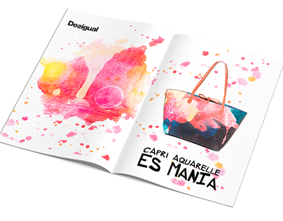 Personal Project - Desigual - Advertising