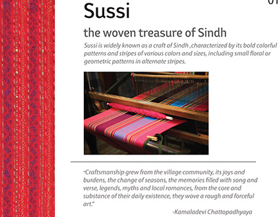 Cultural Weaving 'Sussi'