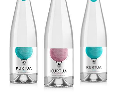 "Design of TM ""Kurtua"" mineral water"