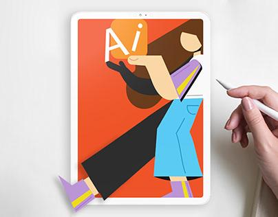 Illustrator on the iPad: Digital Illustration