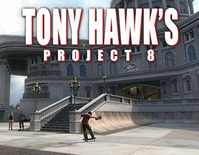 Tony Hawk's Project 8 (2006) Environment Art