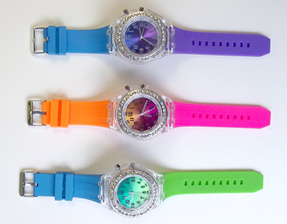 Light Up Watches for Justice