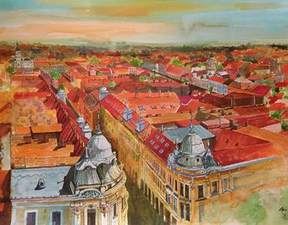 Urban Watercolor