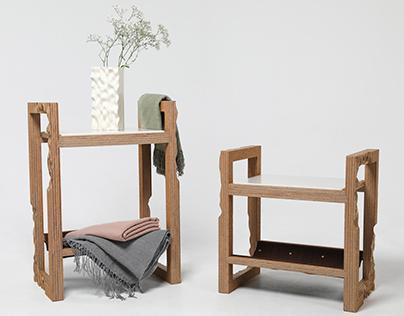 Maroubra Stools/Side Tables