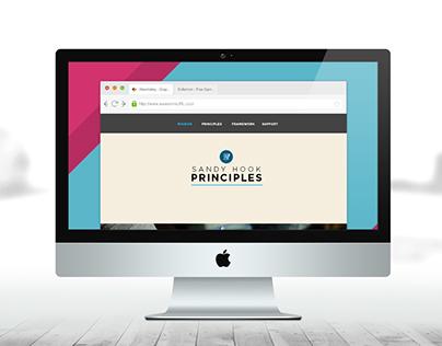 Sandy Hook Principles Website Design