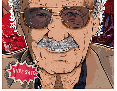 Thank you Stan Illustration