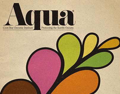Aqua Magazine Cover