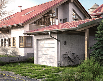 3D Architectural and Exterior