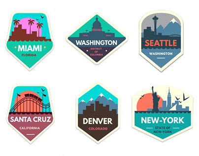 City Badges