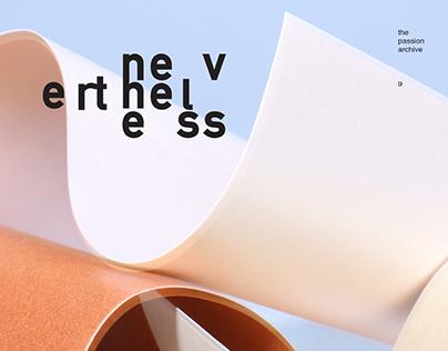 Nevertheless Magazine Cover Design