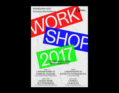 Workshop 2017 — Fototeca Manfrediana