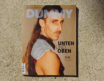 Dummy Magazine 68, Unten und Oben