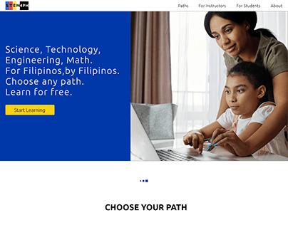 Concept design for a STEM education portal