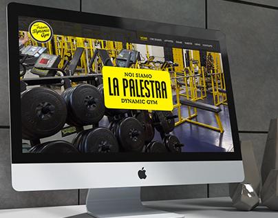 Dynamic Gym - Concept design for a gym website