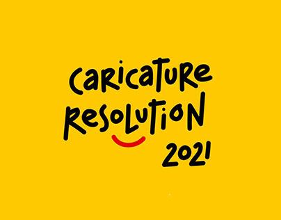 #CARICATURERESOLUTION2021