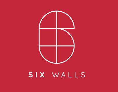 Six walls - Brand identity