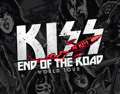 KISS: End of The Road Poster Series