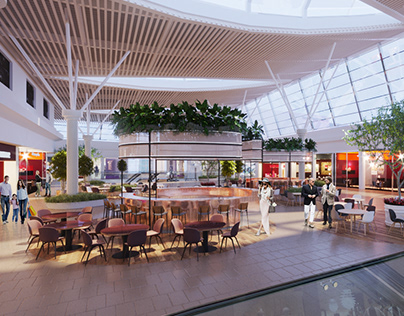 Shopping mall interior design