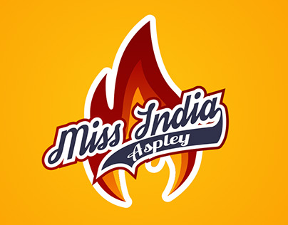 Miss India Aspley (Restaurant Logo Design)