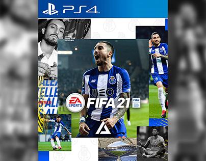 Alex Telles FIFA 21 Cover