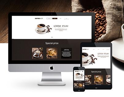 CoffeeShop website