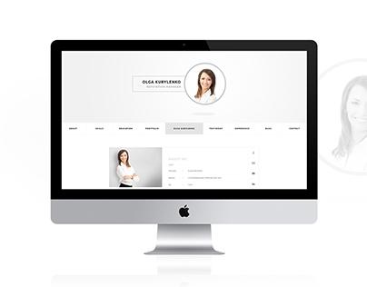 CVitae - Responsive Materialized Resume Intro 4