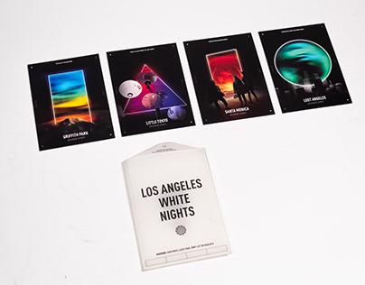 LA Contrast Postcards