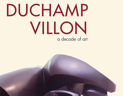 Duchamp-Villon Mock Poster