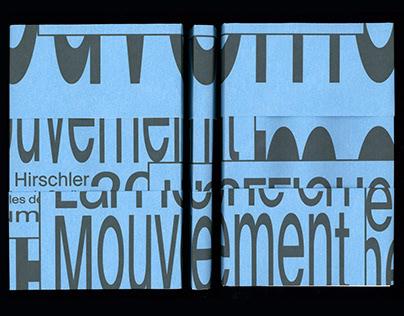 L'AFFICHE EN MOUVEMENT. Graphic design Thesis