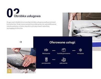 Fish distribution