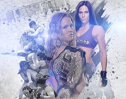 UFC 184 Unofficial Poster