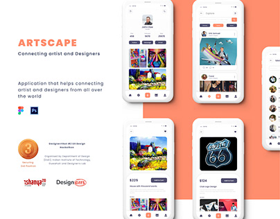 Artscape - Connecting artists and designers