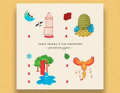 Pensamiento Gigante - LP cover Artwork