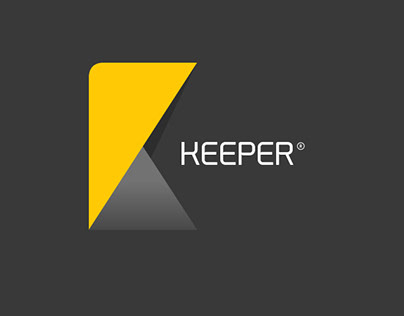Keeper logo redesign (sample)