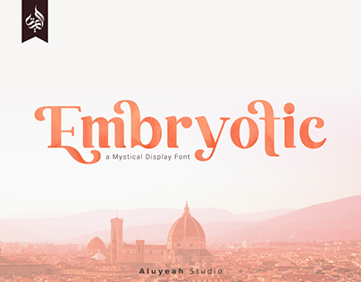 Embryotic | Mystical Font